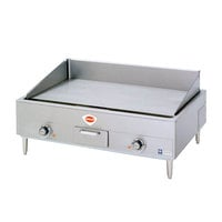 Wells 5G-G19-240 36 inch Electric Countertop Griddle - 240V, 12000W
