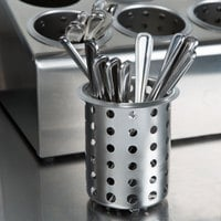 Steril-Sil S-500 Perforated Stainless Steel Flatware Cylinder