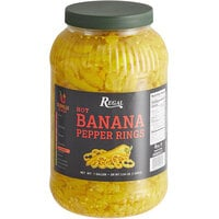 Regal Hot Banana Pepper Rings 1 Gallon - 4/Case