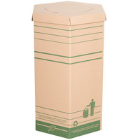 LBP 20002 Large Cardboard Recyclable Trash Can 10/Case