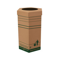 Large Cardboard Recyclable Trash Can 10/Case