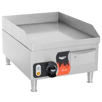 Vollrath 40715 Cayenne 14 inch Electric Countertop Grill 120V