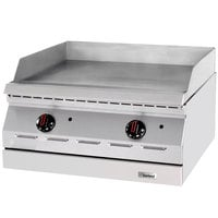Garland ED-36G Designer Series 36 inch Electric Countertop Griddle - 208V, 1 Phase, 10.1 kW