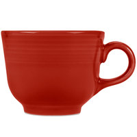 Fiesta Tableware from Steelite International HL452326 Scarlet 7.75 oz. China Cup - 12/Case