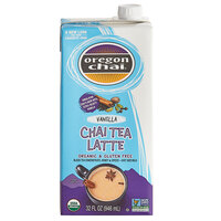 Oregon Chai 32 fl. oz. Organic Vanilla Chai Tea Latte 1:1 Concentrate
