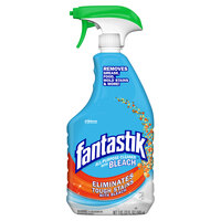 SC Johnson Fantastik® 308685 32 oz. All Purpose Spray Cleaner with Bleach   - 8/Case