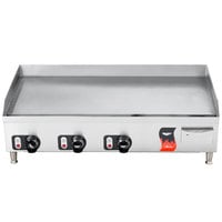 Vollrath 40717 Cayenne 36 inch Thermostatic Electric Griddle 220V