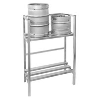 Channel KSR48 Assembled 4 Keg Rack - 48 inch x 20 inch x 55 inch
