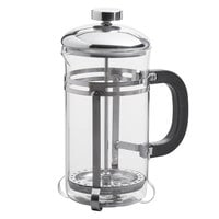 Acopa 20 oz. Glass / Stainless Steel French Coffee Press