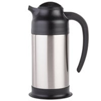 Choice 24 oz. Stainless Steel Insulated Carafe / Server
