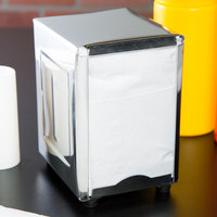 Stainless Steel Lowfold Napkin Dispenser