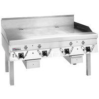 Garland ECG-48R 48 inch Master Electric Production Griddle - 240V, 1 Phase, 17.2 kW