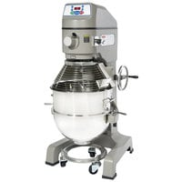 Globe SP60 Gear Driven 60 Qt. Commercial Planetary Floor Mixer - 208V, 3 Phase, 3 hp