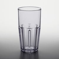 GET 9922-1-CL Bahama 22 oz. Clear Customizable SAN Plastic Tumbler - 72/Case