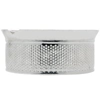 Tellier M5030 1/8 inch Perforated Replacement Sieve for # 5 Food Mill - Tin-Plated Steel