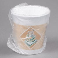 Dart 8X8GWRAP ThermoGlaze 8 oz. Cafe G Hotel and Motel Individually Wrapped Foam Hot Cup - 900/Case