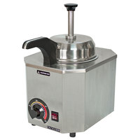 Paragon 2028C Pro-Deluxe 3 Qt. Warmer with Heated Spout - 120V, 517W