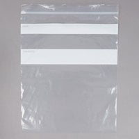 10 inch x 12 inch Standard Weight One Gallon Seal Top Bags - 250/Case
