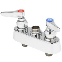 T&S B-1100-LN Deck Mounted Workboard Base Faucet with 3 1/2 inch Centers