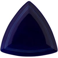 Tuxton CCZ-1248 Concentrix 12 1/2 inch Cobalt Triangle China Plate - 6/Case