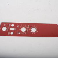 Blodgett 16607 Control Panel Decal
