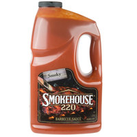 Smokehouse 220 Hickory Smoked Barbecue Sauce 1 Gallon Container