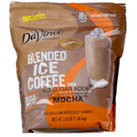 DaVinci Gourmet 3 lb. Ready to Use No Sugar Added Mocha Mix