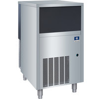 Manitowoc UNF0200A 19 3/4 inch Air Cooled Undercounter Nugget Ice Machine with 30 lb. Bin - 145 lb.
