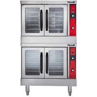 Vulcan VC55ED-208/3 Double Deck Full Size Electric Convection Oven - 208V, 3 Phase, 24 kW