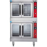 Vulcan VC55ED-240/1 Double Deck Full Size Electric Convection Oven - 240V, 1 Phase, 24 kW
