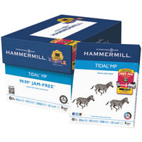 Hammermill 162008 8 1/2 inch x 11 inch White Case of 20# Everyday Copy and Print Paper - 5000 Sheets