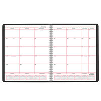 At-A-Glance 7013005 8 inch x 10 inch Black January 2021 - December 2021 Monthly Business Planner