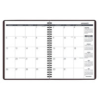 At-A-Glance 7012050 6 7/8 inch x 8 3/4 inch Winestone January 2021 - December 2021 Monthly Planner