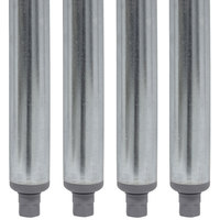 Advance Tabco SU-11C 14 inch Galvanized Steel Legs - 4/Set