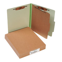 Acco 15044 Letter Size Classification Folder - 10/Box