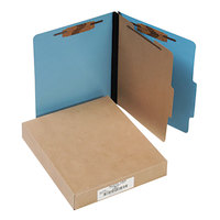 Acco 15642 Letter Size Classification Folder - 10/Box