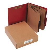 Acco 15038 Letter Size Classification Folder - 10/Box