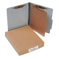 Acco 15014 Letter Size Classification Folder - 10/Box