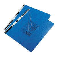 Acco 54072 11 inch x 14 7/8 inch Side Bound Hanging Data Post Binder - 6 inch Capacity with 2 Fasteners, Light Blue