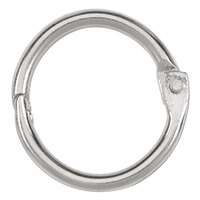 Acco 72201 3/4 inch Diameter Metal Book Ring - 100/Box