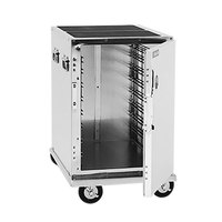 Cres Cor 309-128C Mobile Front Loading Half-Size Insulated Food Pan Transport Cabinet