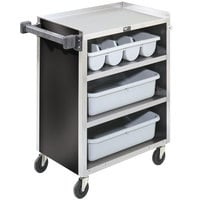 Vollrath 97180 4 Shelf Bussing Cart - 27 1/2 inch x 15 1/2 inch x 34 inch