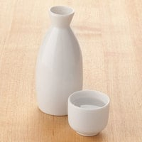 Town 51401 1.5 oz. Ceramic Sake Cup   - 12/Pack