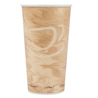 Solo 420MS-0029 20 oz. Mistique Single Sided Poly Paper Hot Cup - 600/Case