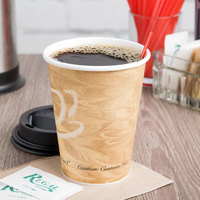 Solo 412MSN-0029 12 oz. Mistique Single Sided Poly Paper Hot Cup - 1000/Case