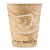 Solo 378MS-0029 8 oz. Mistique Single Sided Poly Paper Hot Cup - 1000/Case