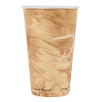 Solo 316MS-0029 16 oz. Mistique Single Sided Poly Paper Hot Cup - 1000/Case