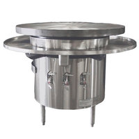 Town MBR-48 Natural Gas 48 inch Flat Top Mongolian BBQ Range