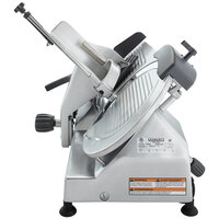 Hobart EDGE-13 13 inch Manual Meat Slicer - 1/2 hp