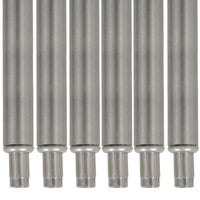 Advance Tabco TA-20-6 34 1/2 inch Stainless Steel Legs - 6/Set